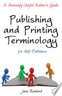 Publishing   Printing Terminology for Self publishers