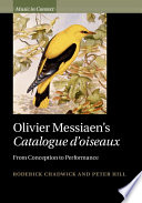 Olivier Messiaen s Catalogue D oiseaux