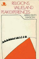 Religions  Values  and Peak Experiences