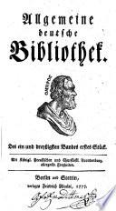 Allgemeine deutsche Bibliothek