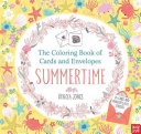 The Coloring Book of Cards and Envelopes  Summertime