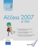 Access 2007 et VBA