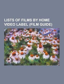 Lists of Films by Home Video Label