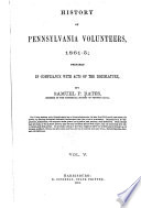 History of Pennsylvania Volunteers, 1861-5