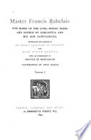 Five Books of the Lives, Heroic Deeds and Sayings of Gargantua and His Son Pantagruel