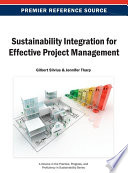 Sustainability Integration For Effective Project Management : recent years, companies are beginning to...