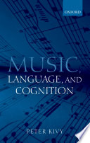 Music  Language  and Cognition