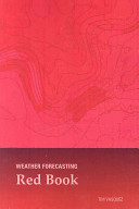 Weather Forecasting Red Book book