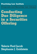 Conducting Due Diligence in a Securities Offering