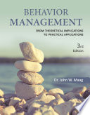 Behavior Management  From Theoretical Implications to Practical Applications