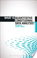What is Quantitative Longitudinal Data Analysis