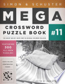 Simon   Schuster Mega Crossword Puzzle Book  11