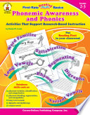 Phonemic Awareness and Phonics  Grades 2   3
