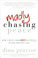 Madly Chasing Peace The Theory That Thoughts And Emotions
