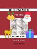 Word Search for Kids Puzzles Books Answers And High Quality Paper For Children