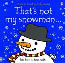 That s Not My Snowman