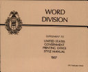 Word Division