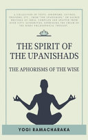 The Spirit Of The Upanishads