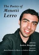 download ebook the poetry of menotti lerro pdf epub