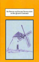 Six French and English Translations of Don Quixote Compared A Study in the History of Translation Theory