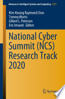 National Cyber Summit  NCS  Research Track 2020 Book PDF
