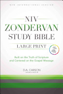 download ebook niv zondervan study bible, large print: built on the truth of scripture and centered on the gospel message pdf epub