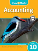 Study And Master Accounting Grade 10 Caps Teacher S File