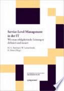 Service-Level-Management in der IT