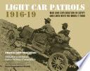 Light Car Patrols 1916 19