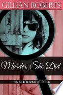 Murder She Did