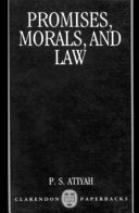 Promises  Morals  and Law