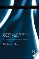 International Law and Drone Strikes in Pakistan