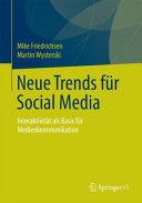Neue Trends für Social Media