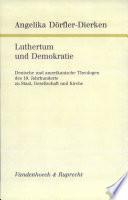 Luthertum und Demokratie