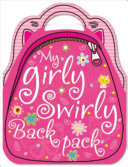 My Girly Swirly Sticker Backpack