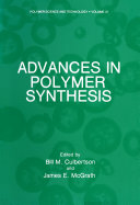 download ebook advances in polymer synthesis pdf epub