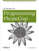 Twenty Recipes for Programming Phonegap