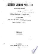 Archivio storico siciliano