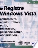 Registre Windows Vista   architecture  administration  script  r  paration