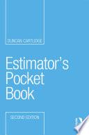 Estimator S Pocket Book 2e