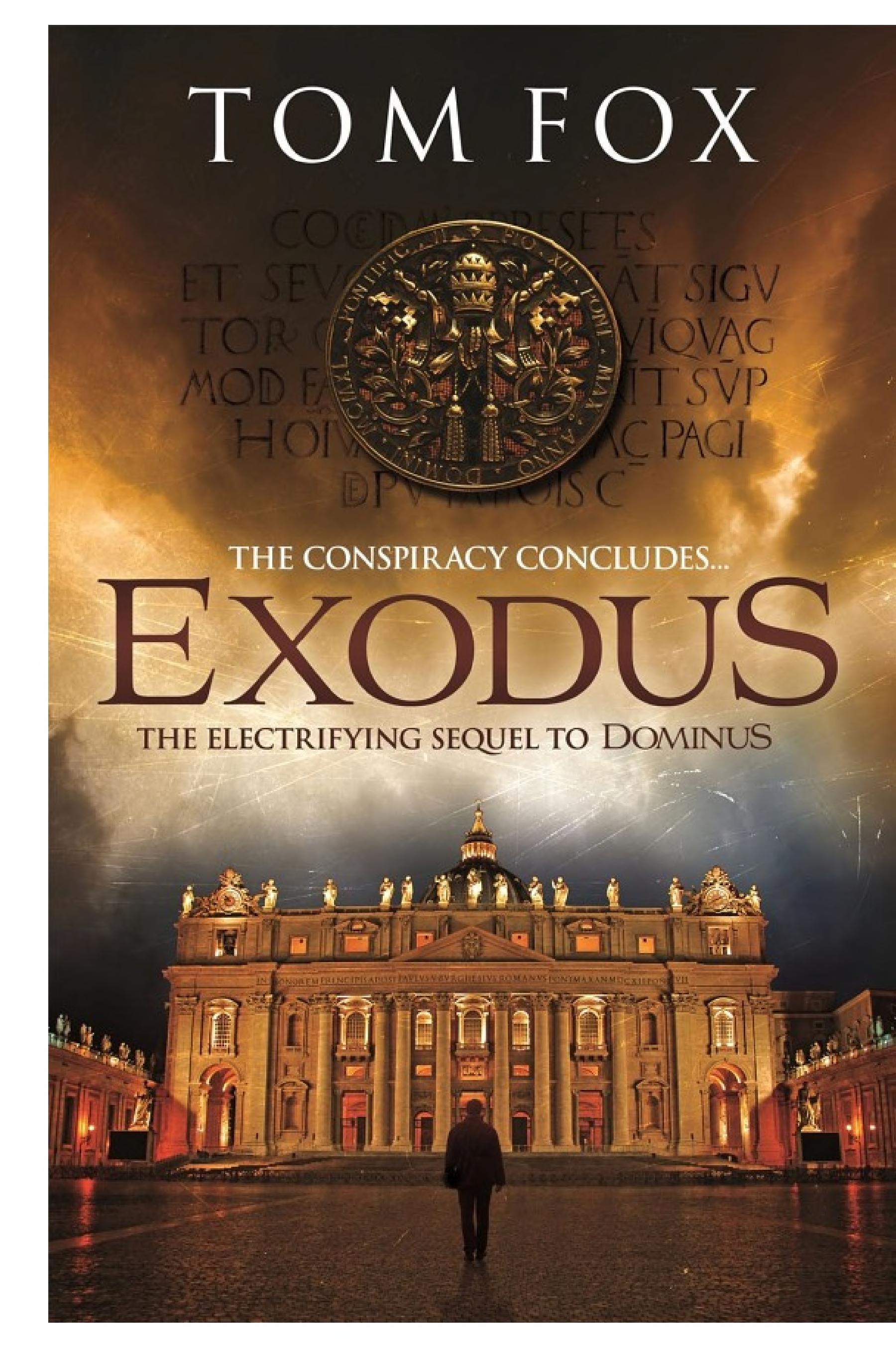 Exodus Simon Toyne will be gripped
