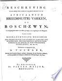 Beschryving van een onlangs nieuw ontdekt en nog geheel onbekend soort van Africaansch Breedsnuitig Varken, Of Bosch-Zwyn