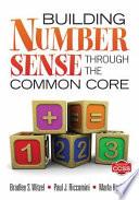 Building Number Sense Through the Common Core