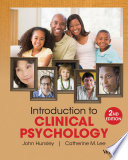 Introduction to Clinical Psychology  An Evidence Based Approach  2nd Edition
