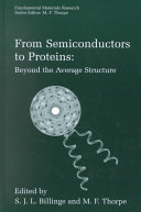 From Semiconductors to Proteins  Beyond the Average Structure