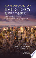 Handbook Of Emergency Response