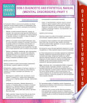 DSM 5 Diagnostic and Statistical Manual  Mental Disorders  Part 1