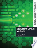Battery Management Systems  Volume II  Equivalent Circuit Methods