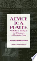 Advice to a Player