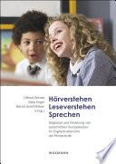 Hörverstehen - Leseverstehen - Sprechen